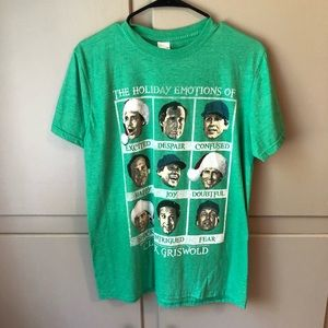 Tops - The Holiday Emotions of Clark Griswold T-Shirt